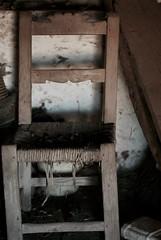 Tome asiento, por favor (granvendaval) Tags: terrinches nogueras castillalamancha silla penumbra viejo internationalflickrawards