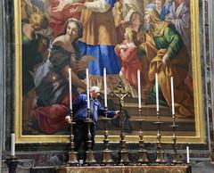 St. Peter's Basilica (svenwerk) Tags: stpetersbasilica petersdom rome rom roma kerze bild gemlde