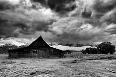 The Space Between (CDeahr23) Tags: moultonbarn mormonrow grandtetonnationalpark clouds wyoming weather