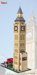 LEGO Big Ben (TheBrickMan) Tags: lego big ben london wonders world top gear united kingdom britain