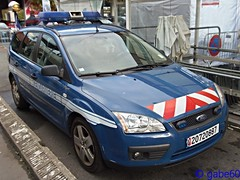 Cergy, Rencontres de la Scurit 2013 (recue3000) Tags: ford focus sw gendarmerie nationale