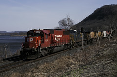 CP 6229  WEAVER  EAST MN April 1, 2015 (Yukon Yeti) Tags: canadian pacific sd60 cp emd railway railroad
