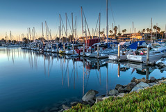 Mast Reflections (tquist24) Tags: california channelislandsharbor hdr nikon nikond5300 oxnard boats geotagged harbor longexposure morning sailboats sky sunrise water unitedstates reflection reflections mast