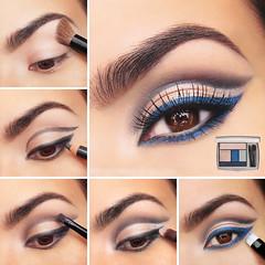 Night Vision Double-liner Eye Makeup Tutorial (Nadyana Magazine) Tags: lashes eyelashes clothes blackeyeliner blackpencil