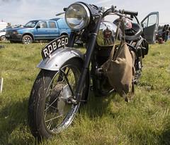 LVMS 002 (barryskeates) Tags: auto car truck vintage bedford aerial norton machinery motorbike motorcycle society bsa lambourn lvms lambournvintagemachinerysociety