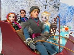 (71) The End (Foxy Belle) Tags: winter snow ice movie olaf frozen store dolls hans disney kristoff