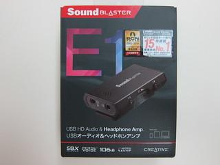 Creative Sound Blaster E1 - Portable Headphone Amplifier