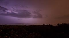 Tempest I (Hugo Baptista) Tags: nightphotography sky clouds scheveningen lightning