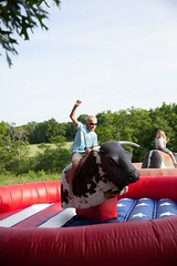 Ride 'Em Cowboy (Jumpin Jiminy, Inc.) Tags: party oklahoma corporate picnic ride mechanical rental bull event inflatable tulsa rent toro inflate teambuilding mecanico