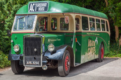 1947 Leyland Bus (CC alter ego) Tags: bus devon nationaltrust leyland greenway ahl694 vintageleylandbus1947