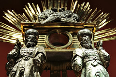 "Detail of ""Ark of the Covenant"" monstrance (made in 1788) - Archdiocese Museum in Poznan (Poland)"