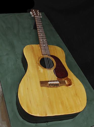 Martin Acoustic Guitar Cake