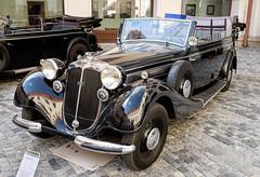 Horch 951A Gläser Pullman cabriolet (1938) (The Adventurous Eye) Tags: festival 1938 pullman cabriolet horch gläser 2014 veterán přehlídka holešov 951a veteráni khfrank