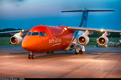 OO-TAS British Aerospace BAe-146-300QT Quiet Trader TNT Airways (Andreas Eriksson - VstPic) Tags: quiet lima quality 45 british airways tnt liege aerospace trader ootas bae146300qt
