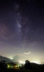 Cosmic volcano (jognroll) Tags: night stars landscape volcano via galaxy milkyway volcan lactea