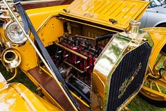 Brass Buick (hz536n/George Thomas) Tags: summer copyright june canon michigan canon5d flint 2014 ef1740mmf4lusm cs5 sloanmuseum sloanmuseumautofair sloan2014