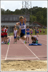 Long jump (Maw*Maw) Tags: motion blur youth photoshop canon eos athletics jump long crop 7d cs6