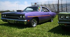 1970 Plymouth Roadrunner (osubuckialum) Tags: show columbus ohio classic cars car purple muscle plymouth oh 1970 mopar 70 nationals carshow roadrunner musclecar 2014 moparnationals moparmuscle nationaltrailraceway moparpower