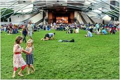 Pritzker Pavillion (BalineseCat) Tags: park chicago concert lawn jazz millennium pavilion pritzker