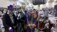 DC Villains (Kordite) Tags: geotagged penguin costume cosplay scarecrow joker catwoman harleyquinn steampunk steelcitycon