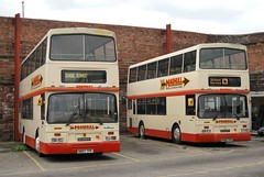 Maghull Arrows 14/07/14 (MCW1987) Tags: london country east arrows dennis lancs maghull n807tpk n805tpk