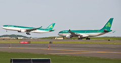 Irish Twins ! (jp.marottta) Tags: travel ireland dublin irish green tourism boston twins shannon airbus leisure loganairport ronan shamrock dub aerlingus a330 mella doubles snn a330200 a330300 irishtwins nikond90 eilax stmella eieav