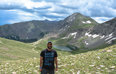 Just a Hermit (-mtnoxx-) Tags: lake snow green de colorado 4x4 pass alpine sit rockymountains hermit sangre dolor christo selfie westcliffe lorem ipsum amet
