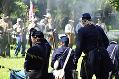 Battle of Gainesville (Art Mullis Photography (All Images Copyrighted)) Tags: horses florida union confederate cannon reenactment musket uscivilwar battleofgainesville