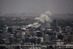 #GazaUnderAttack (#GazaUnderAttack) Tags: friends woman christian relatives israeli pse rubble gazastrip palestinian gazacity ayad palestinianterritory jalila airstike