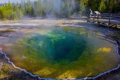 DSC07916 (mingzkl) Tags: blue green spring yellowstone geyser morningglory voigtlanderheliar15mmf45 sonynex7
