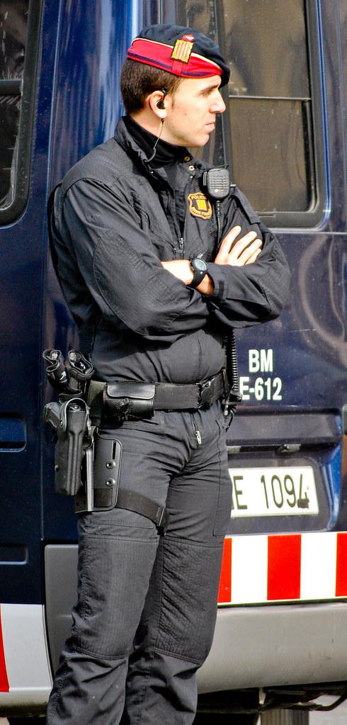 cute hunks in uniform