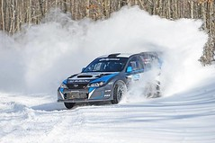 Here's a cool picture of Higgins tearing up some snow. Nice to think about while sweating you butt off during summer. http://ow.ly/i/6mIeT (DIrally) Tags: rally subaru impreza wrx sti rallycross dirtyimpreza