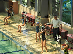 2014-08-24 09.32.00 (pang yu liu) Tags: school swimming high exercise contest aug 08 2014 比賽 游泳 八月 運動 華江高中
