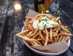 Truffle Fries at Eveleigh - West Hollywood