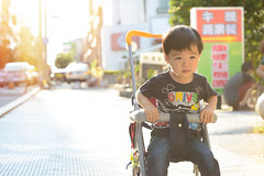 my son Rainy 20 month 8 in   DSC_3154 (Ming - chun ( very busy )) Tags: road travel portrait portraits kid model nikon child taiwan 85mm taichung nikkor f18    d800  streetshot       85mmf18     streetsnap streetscence  f1885mm   taichungcity