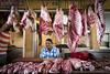 Dominicaanse Republiek (Mark Sekuur) Tags: street city market meat handelaar markt vlees higuey higüey dominicaanserepubliek marktkoopman caribisch laaltagracia