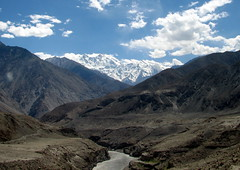 The Barren Beauty () Tags: pakistan mountains nature river indus nangaparbat killermountain