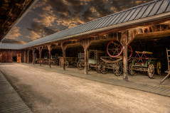Wagon-Shed (Mike Braedel) Tags: ontario canada milton