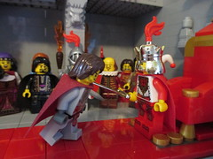 Lego Ritterschlag (Lego Mxle) Tags: castle lego knight ritterschlag legothronsaal