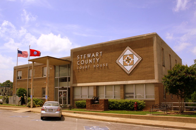 Stewart County Courthouse (2014) - Dover, TN