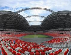 Singapore National Stadium, Singapore Sports Hub (gintks) Tags: singapore openhouse singapur 2014 kallang nationalicon singaporetourismboard kallangwave stadiummrt gintaygintks