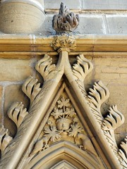 Southwell, Nottinghamshire (Oxfordshire Churches) Tags: uk england unitedkingdom churches cathedrals panasonic carvings anglican nottinghamshire greenman southwellminster greenmen cofe churchofengland chapterhouses southwell mft listedbuildings minsters gradeilisted ©johnward micro43 microfourthirds lumixgh3 villagecathedral