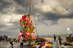 "Lord Ganesha Immersion Festival, Chennai • <a style=""font-size:0.8em;"" href=""http://www.flickr.com/photos/86056586@N00/14983807907/"" target=""_blank"">View on Flickr</a>"