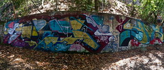 Jurne 41shots (always_exploring) Tags: panorama abandoned graffiti yme explore lurking 41shots tge jurne bayareagraffiti