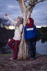 (ImnFkhri) Tags: park camera sunset portrait lake nature 50mm prime centennial spring nikon cloudy outdoor f14 flash off nikkor strobe cls d610 sb900 sb700