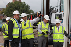 "Stephen Mosley MP visits new Waitrose superstore in Boughton, Chester • <a style=""font-size:0.8em;"" href=""http://www.flickr.com/photos/51035458@N07/15064499787/"" target=""_blank"">View on Flickr</a>"