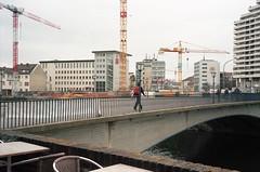 crossing the boarder (Hen's March) Tags: germany ulm 2014