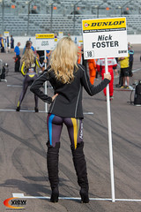 Rockingham BTCC (view photographic) Tags: btcc rockingham gridgirls passatcc viewphotographic racingfords