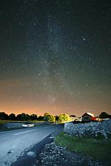 Milky Way & Station Inn, Ribblehead (diamond-skies) Tags: way three viaduct astrophotography astronomy peaks milky ingleton ribblehead polarie