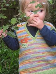 Heart Felt spring wool vest (Heart felt) Tags: wool spring recycled hugo knitted vests heartfelt upcycled